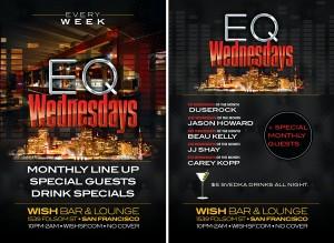 Ed Mazur at EQ Wednesdays at Wish